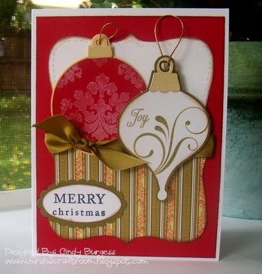Christmas Card Ideas on With My Cricut This Week And Put Together This Card I Scraplifted