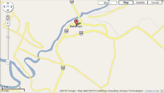 Babahoyo, Ecuador Map