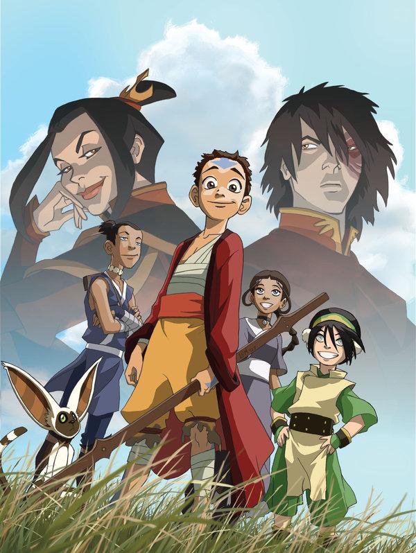 Avatar la leyenda de aang película para el celular 3gp