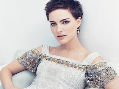 of Natalie Portman. A lot of celebrities nowadays choose short hair