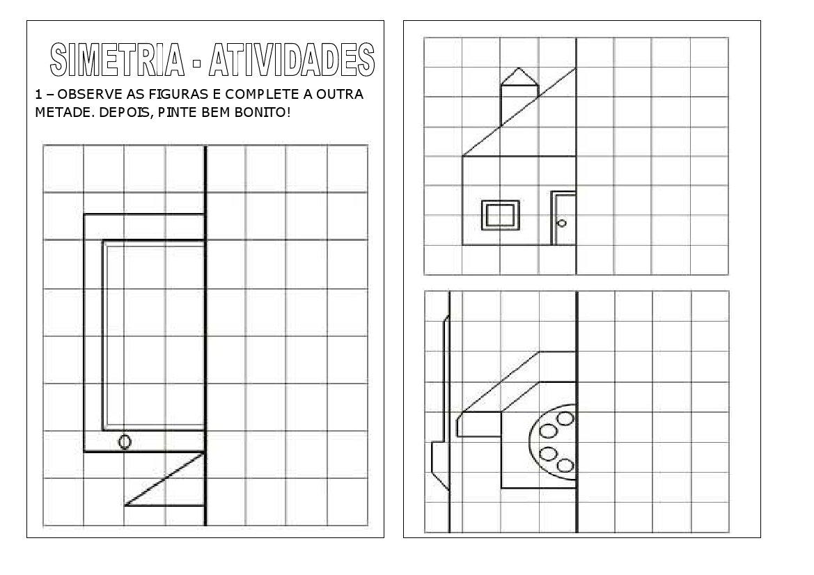 Excepcional VARAL DE ATIVIDADES: SIMETRIA ZT42