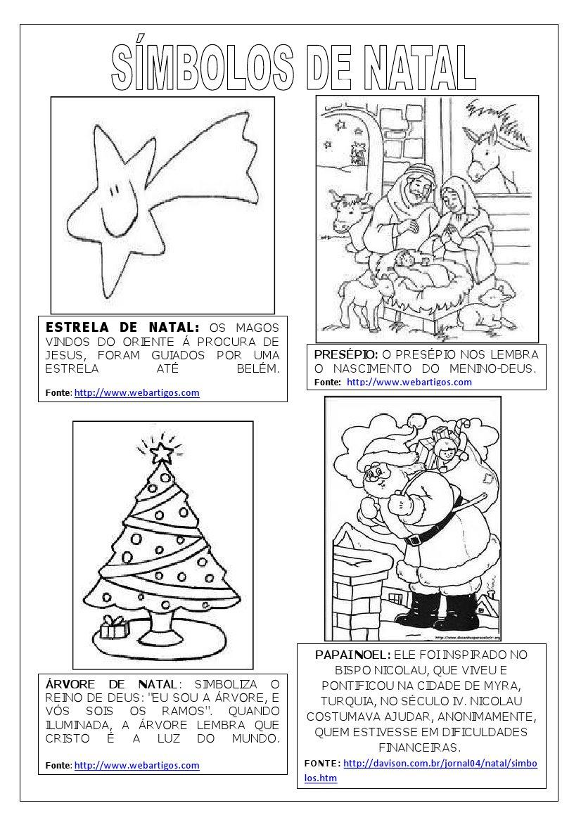 Varal de atividades smbolos de natal smbolos de natal ccuart Images