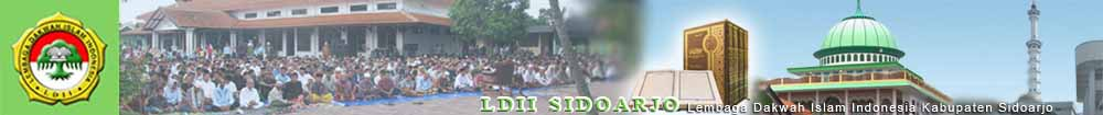 LDII Sidoarjo|Lembaga Dakwah Islam Indonesia Kabupaten Sidoarjo Jatim