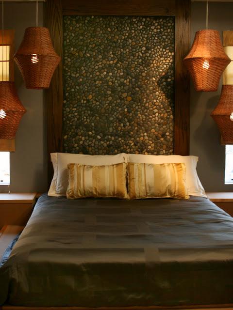 Ekim 2012 dormitorios fotos de dormitorios im genes de habi - Cabeceros de piedra ...