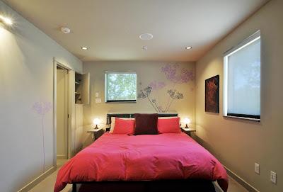 Decoracion dise o dormitorio peque o con cama grande - Decoracion dormitorio pequeno ...