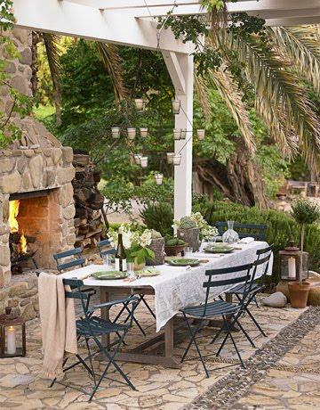 pergolas terrazas y jardines fotos de jardines. Black Bedroom Furniture Sets. Home Design Ideas