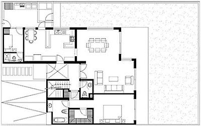 planos de casas de dos pisos de 300 metros cuadrados