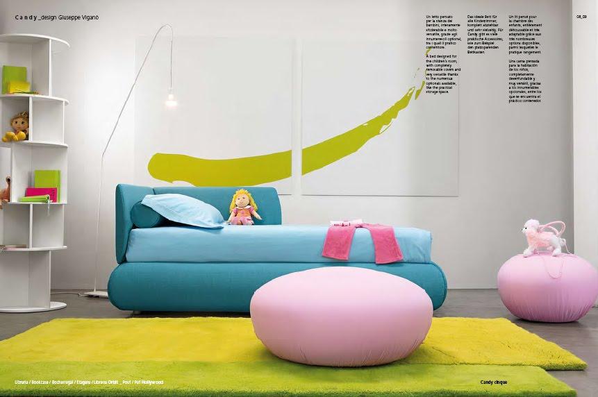 Camas tapizadas infantiles dormitorios para ni os - Camas dormitorios infantiles ...