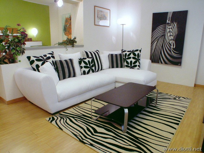 Decorar Una Sala De Zebra