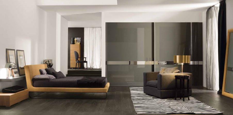 Dormitorios Para Hombres En Colores Oscuros Y Sobrios