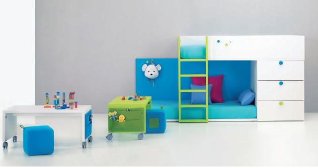 Dormitorios infantiles minimalistas recamaras minimalistas - Dormitorios infantiles para nino ...