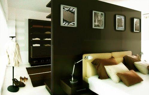 EL CABECERO DE CAMA NO SIEMPRE VA EN LA PARED DEL FONDO by dormitorios.blogspot.com