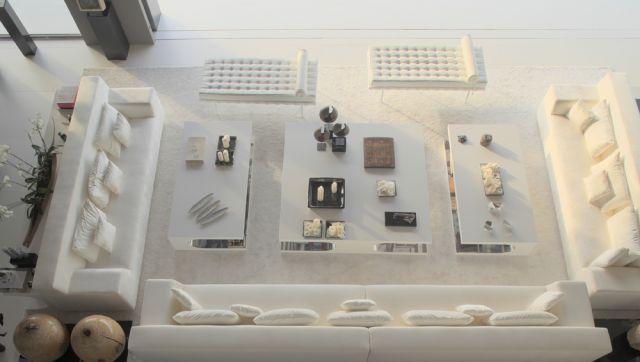 Ideas para salas muy grandes y amplios espacios de living for Como amueblar un living grande