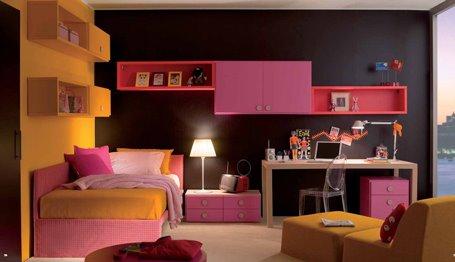 RECAMARA JUVENIL PARA CHICAS by dormitorios.blogspot.com
