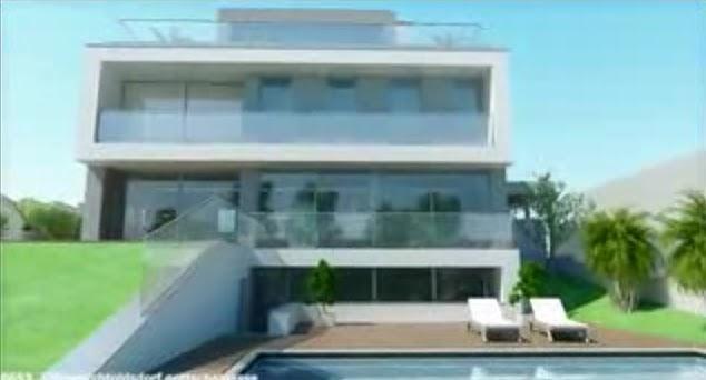 Fachada de casa moderna video de fachada de casa for Casas modernas unifamiliares