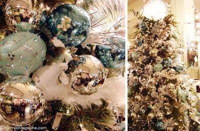 Arboles de navidad decoracion con estilo moda y belleza for Arbol navidad turquesa