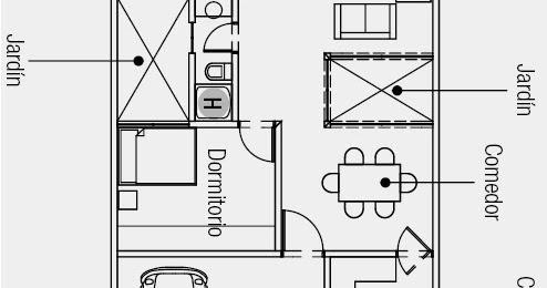 Planos de casas gratis y departamentos en venta plano de for Planos de casas de una sola planta