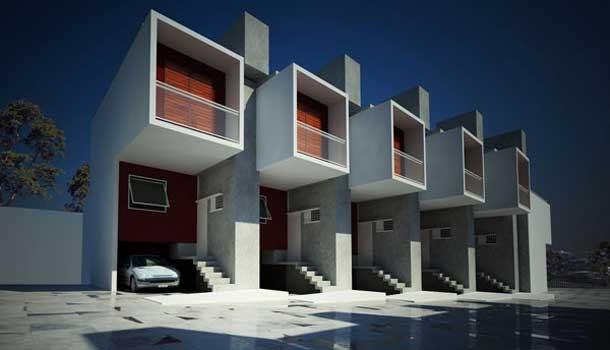 Fachadas de condominios casa box brasil fachadas de for Modelos de fachadas de viviendas modernas