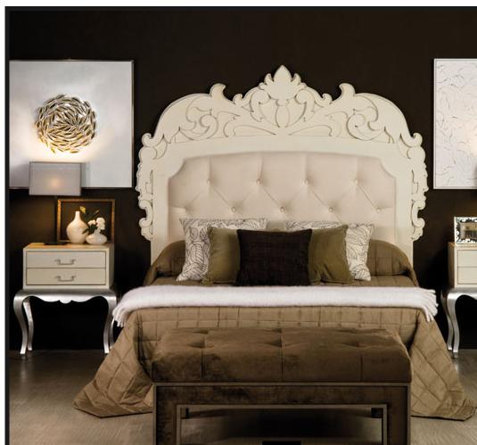 dormitorio barroco marron Diseño interior barroco es todo eso y Algo Más