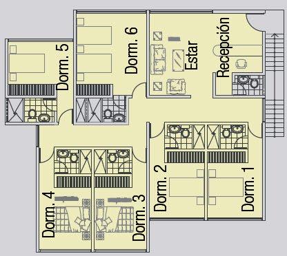 Planos de casas gratis y departamentos en venta planos de for Distribuir casa planos