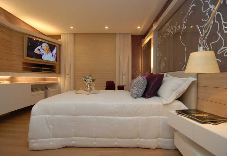 Dormitorio color lila para chicas de toda edad - Habitaciones de chicas ...
