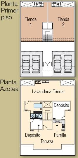 Planos de casas gratis y departamentos en venta plano for Planos de locales comerciales modernos