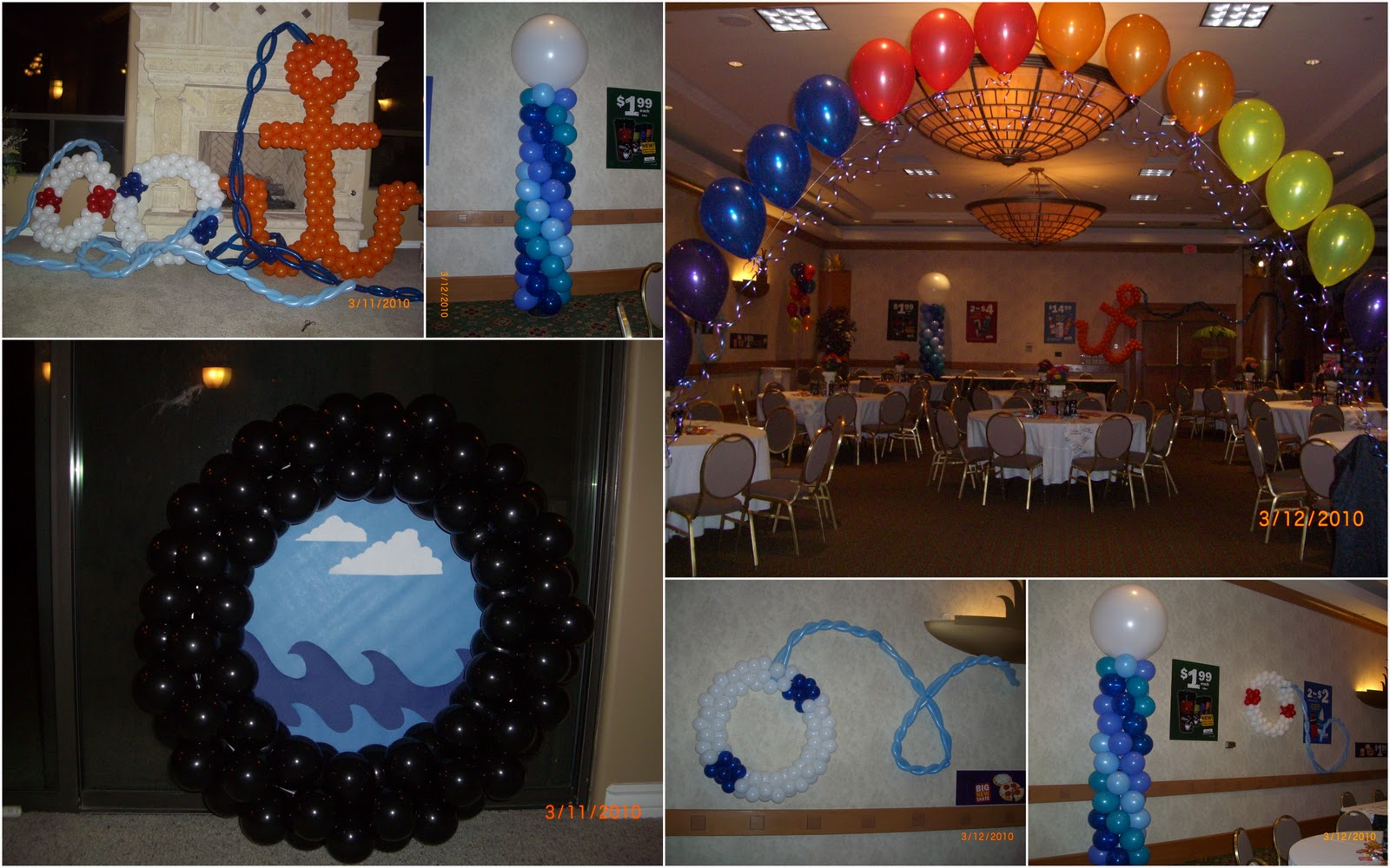cherri u0026 39 s balloons  cruise ship party time