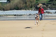 En la Playa de Muskiz