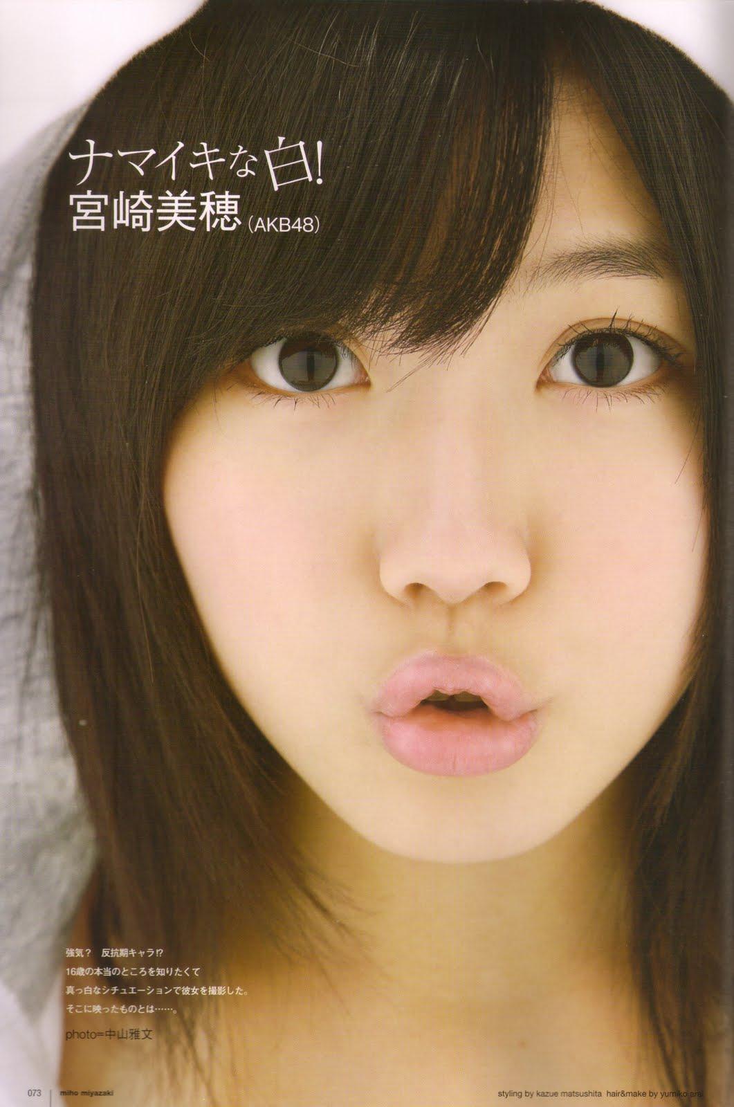Kira Kira Anni Utb Magazine Scans Akb48