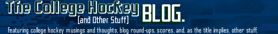 The College Hockey (& Other Stuff) Blog.