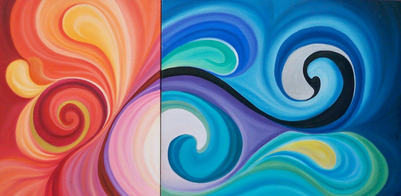 Fabiola d az arte significado de las pinturas - Cuadros con colores calidos ...