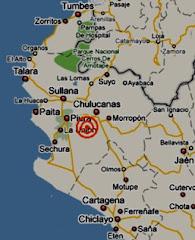 Un sismo de 4,4 grados remeció Piura