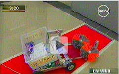 El robot peruano que triunfó en Japón