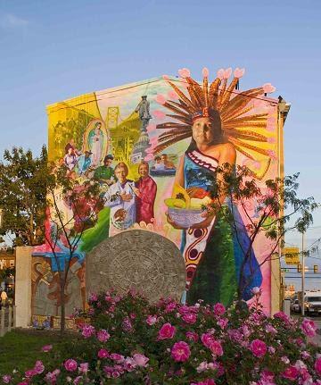 Community Arts And Murals New Fire Mexican Cultural Mural. Letras Lettering. Surrealist Murals. Branded Logo. Thanks Lettering. Retna Murals. Kindergarten Decals. Drunk Logo. Tree Life Decals