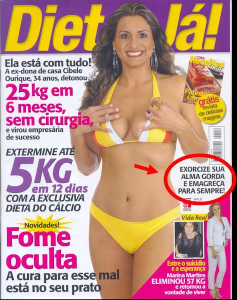 Capa da Revista Dieta Já - outubro 2007