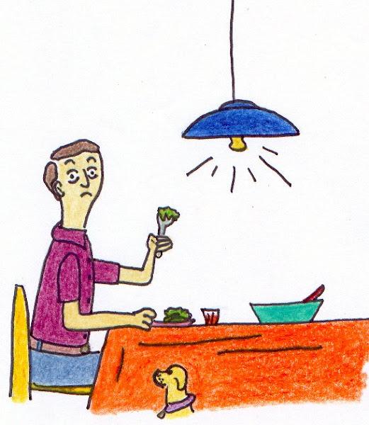 Nelson Rodrigues e sua dieta.