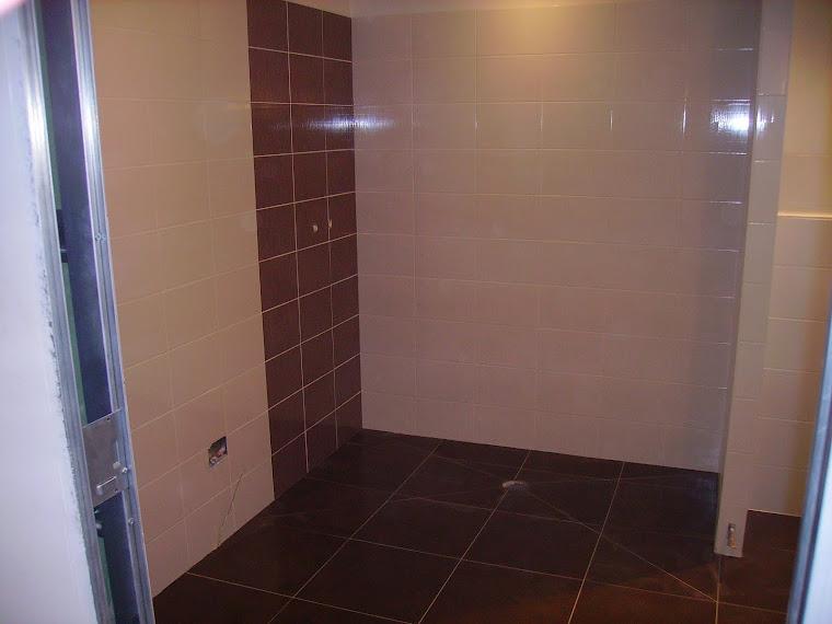 Salle de bain et douche à l'italienne