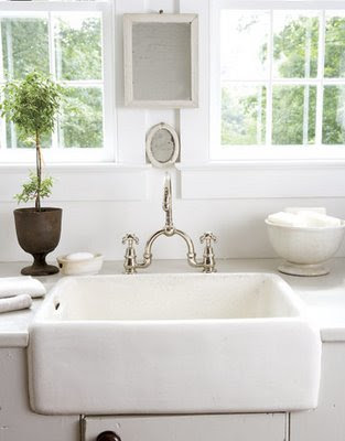 Porcelain Farm Sink : Farmhouse Sinks