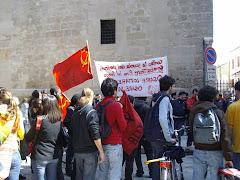 Red Block al rettorato di Palermo