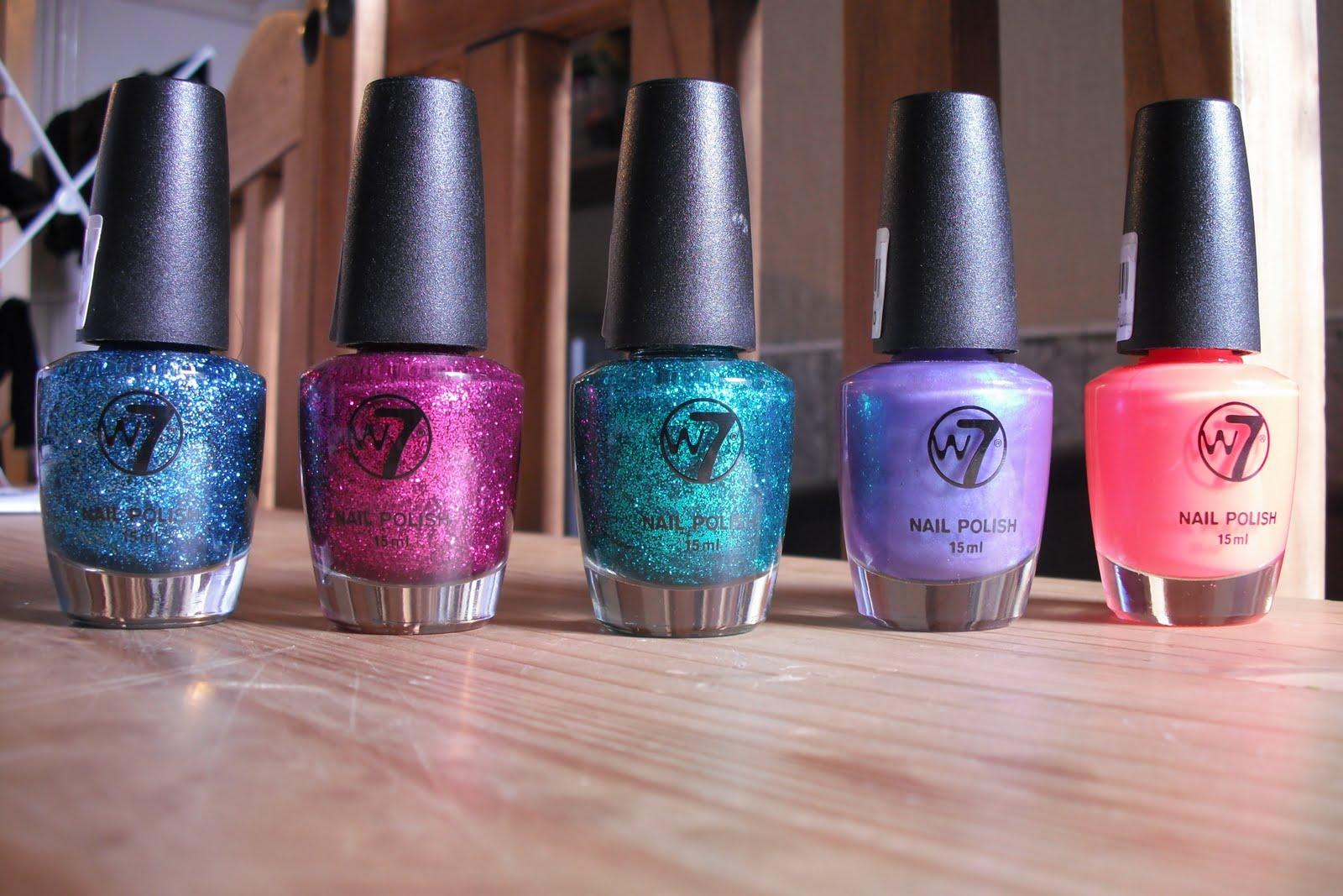 Beautifully Addicted To - a Beauty Blog.....: W7 Nail Polish
