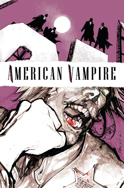 American Vampire No4 cover