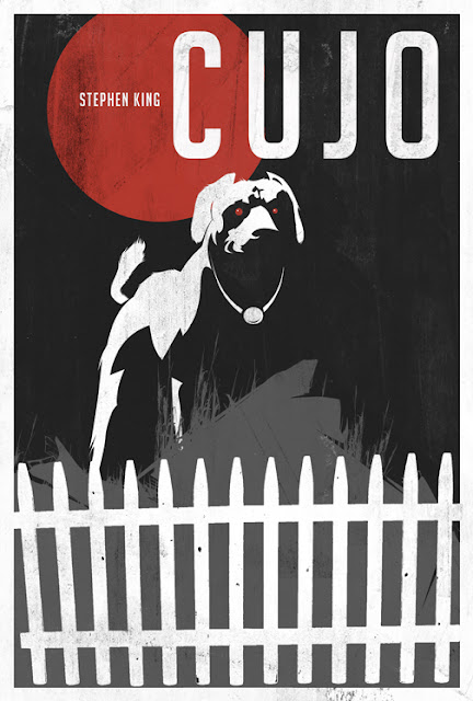 Stephen King Cujo poster image by Laz Marquez