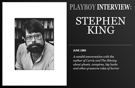 Stephen King: Playboy interview 1983 June