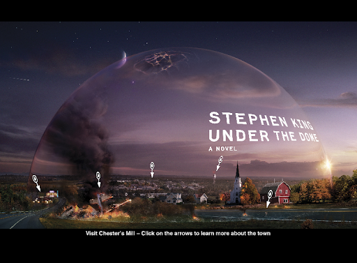 Under the Dome interactive cover