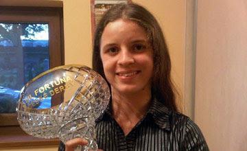 Maria Magdalena Rossak who won Czech Derby