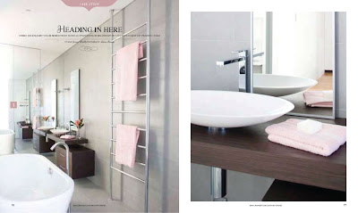 Minosa home beautiful bathroom design ideas 50 of the best australian bathrooms 2010 Modern australian bathroom design