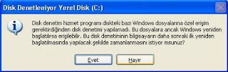 disk denetim bilgilendirme - Scandisk nedir, ne i�e yarar ve nas�l yap�l�r? (Resimli Anlat�m)