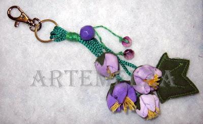 artemelza - flor de fuxico enrolado