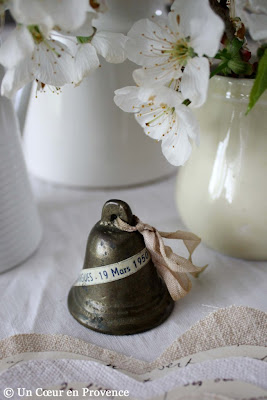 A small bell remembrance of baptism