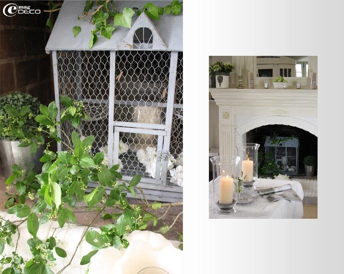Grande cage et cheminée